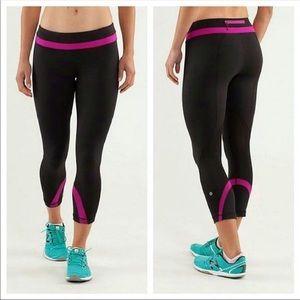 Lululemon Run: Inspire Crop II leggings